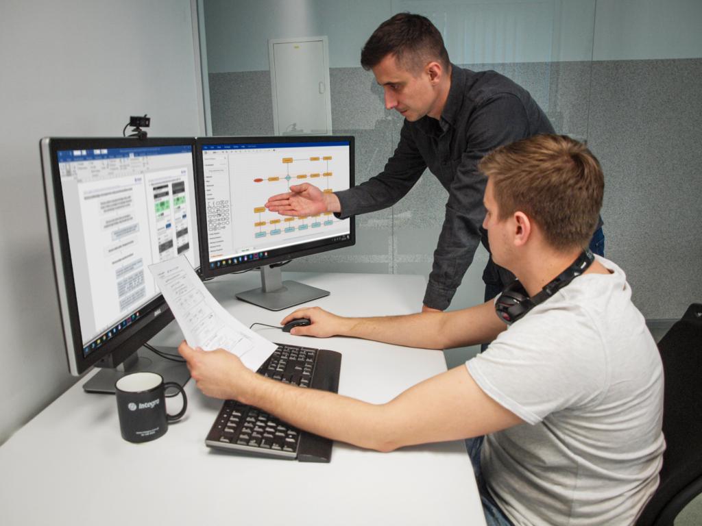 UI Designer podczas konsultacji